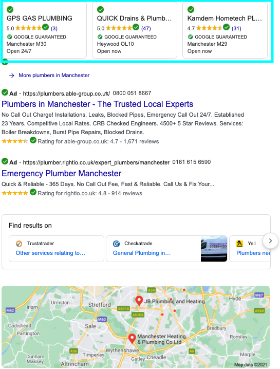 local service ads, google local, local business, local service